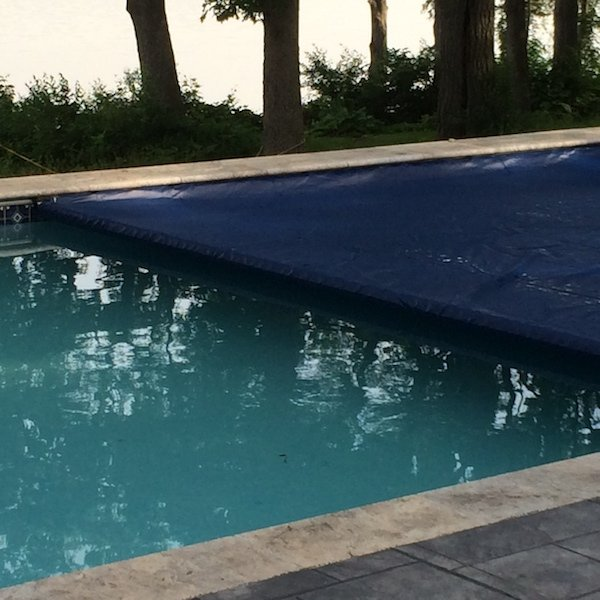 Pool Cover Traps Heat