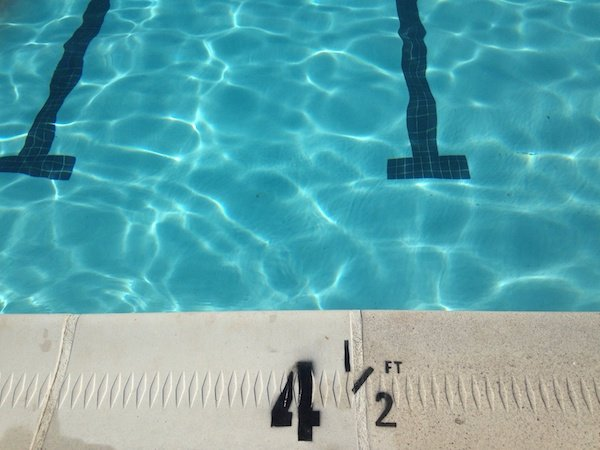 Swimming Pool Depth