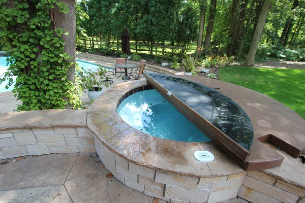 Attached Hot Tub