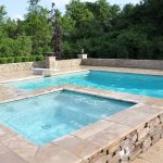Close up of Above Ground Pool