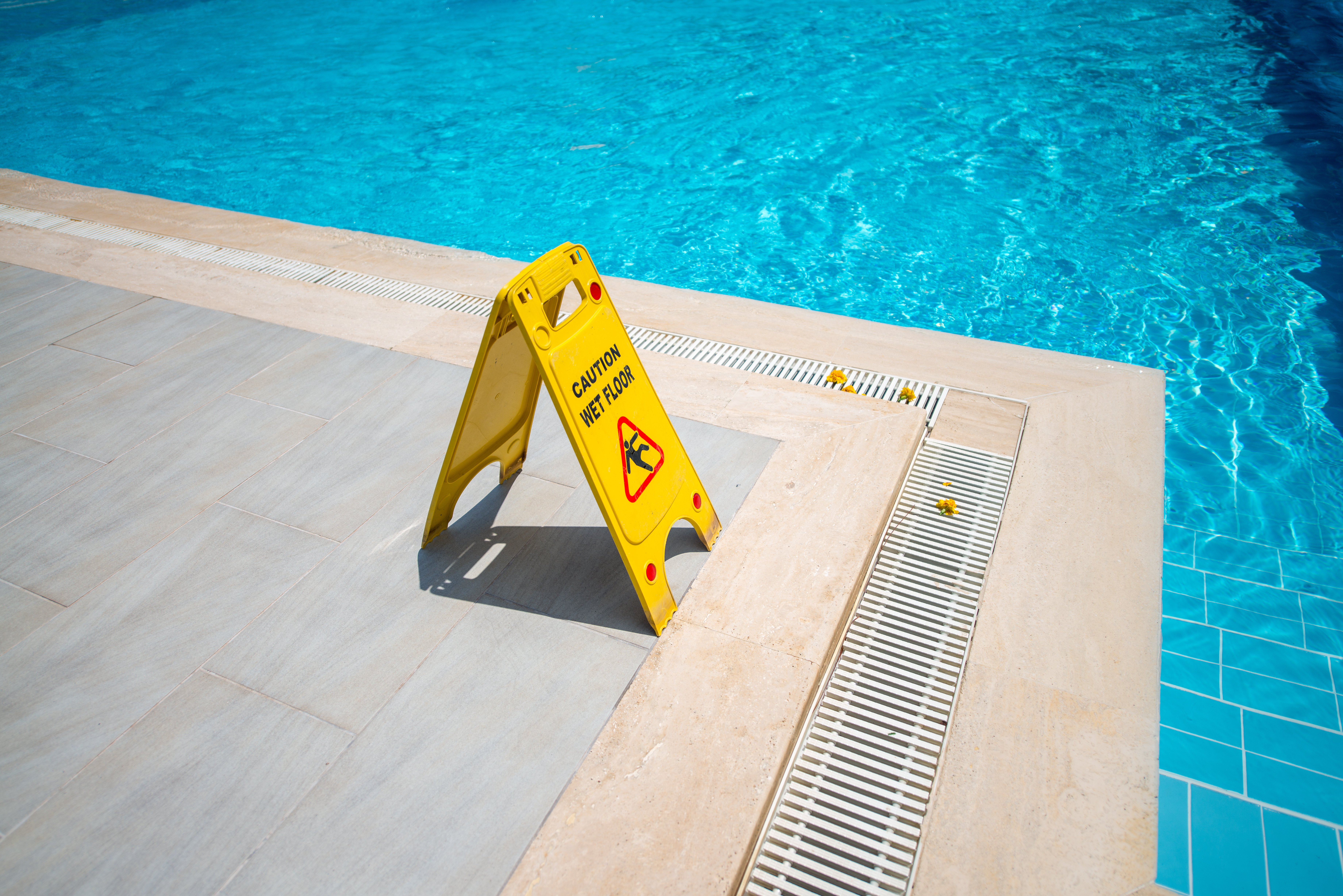 Prevent Slips and Falls Around the Pool